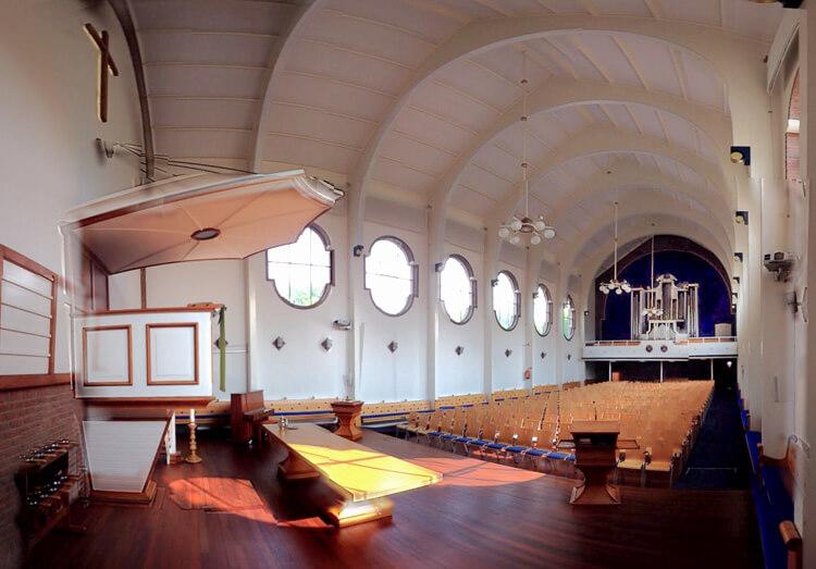 Hoeksteen interieur