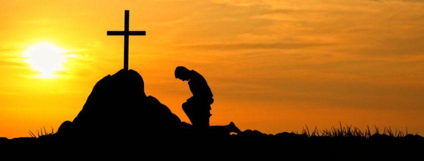 Knielen Kruis
